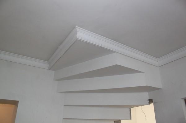 Эскизы потолков из гипсокартона лестницы фото
